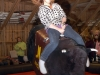 Bondens Dag -Ridning på mekanisk rodeotjur