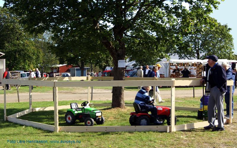 Traktorkörning för de minsta