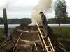 Bondens Dag 2007- Kolmilan tänds på kvällen 31 augusti